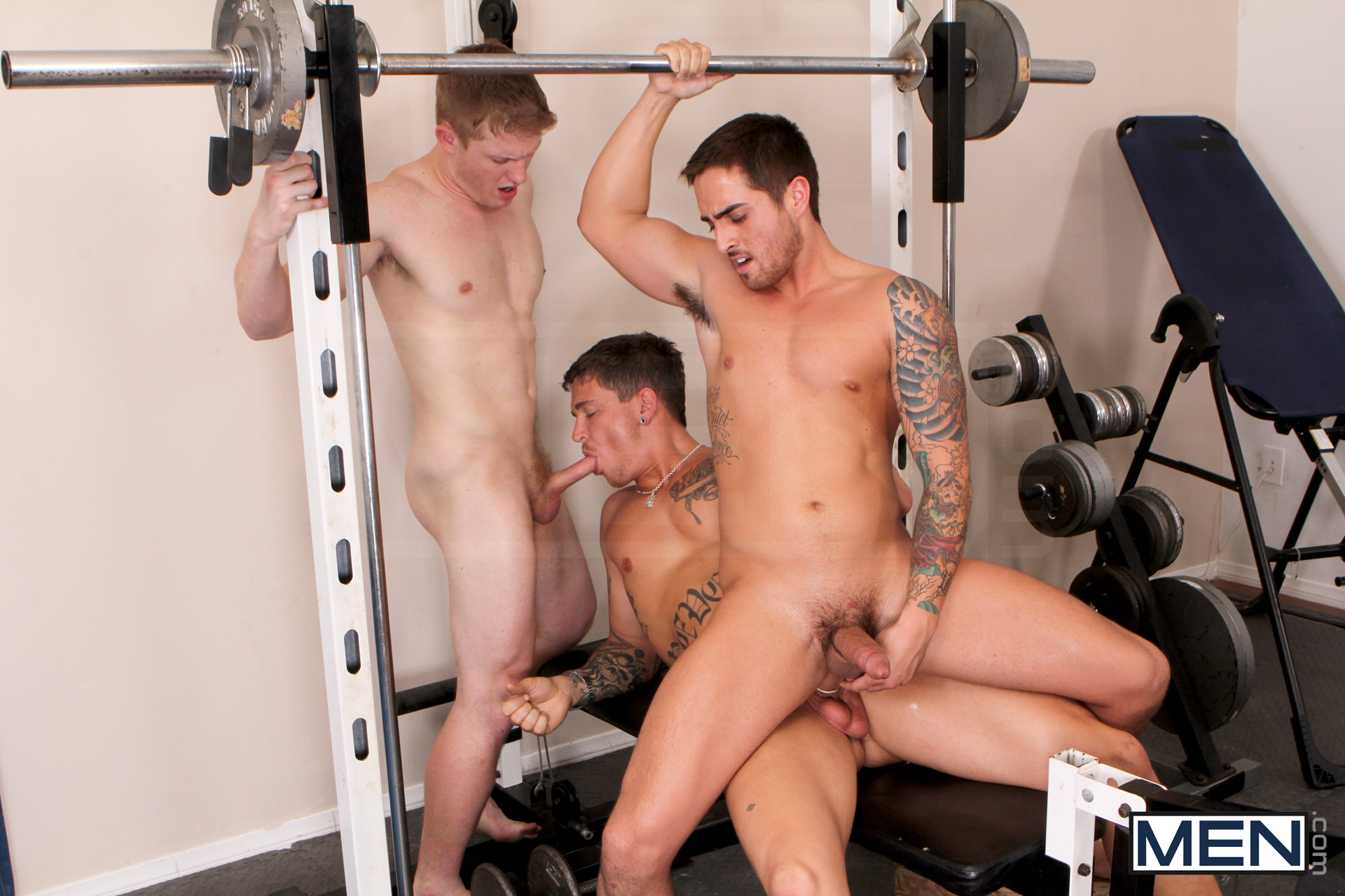 Gym Xxx The Guy To Man Into