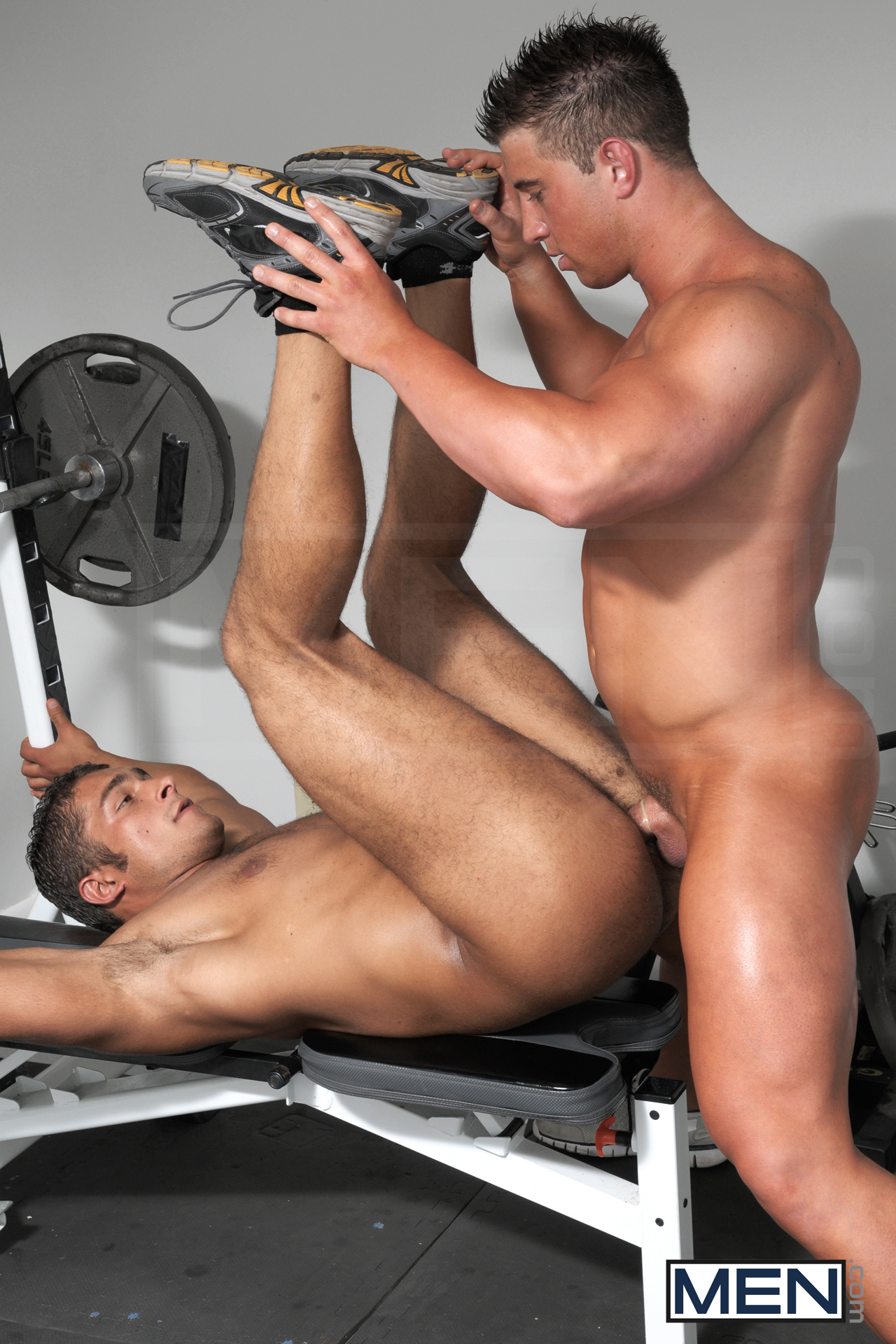 Men bodybuilders gay sex trailer first time
